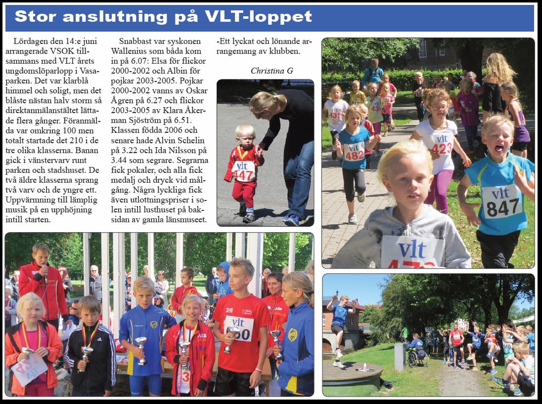 VLT-loppet 2014